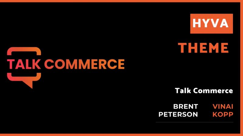 Talk Commerce - Vinai Kopp